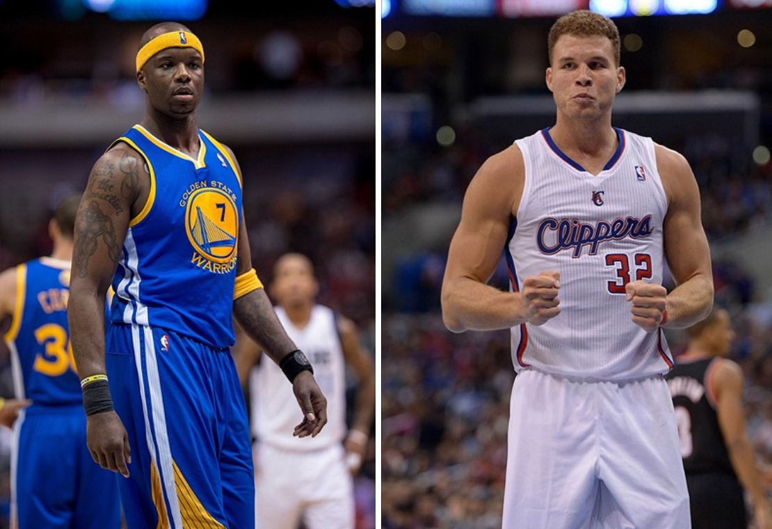 Jermaine O Neal Confronts Blake Griffin After Warriors Clippers Game