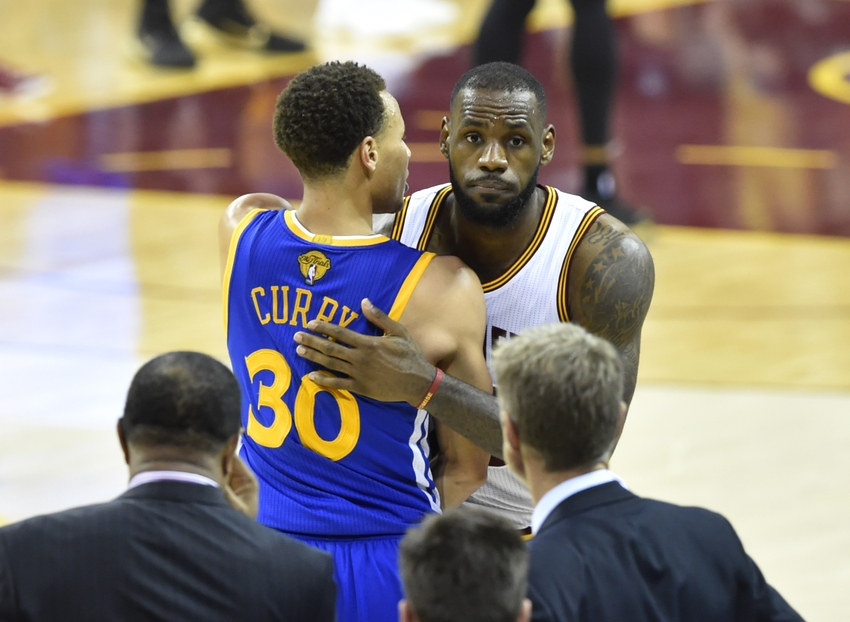 2537f0e4100 Stephen Curry and LeBron James are atop the basketball world