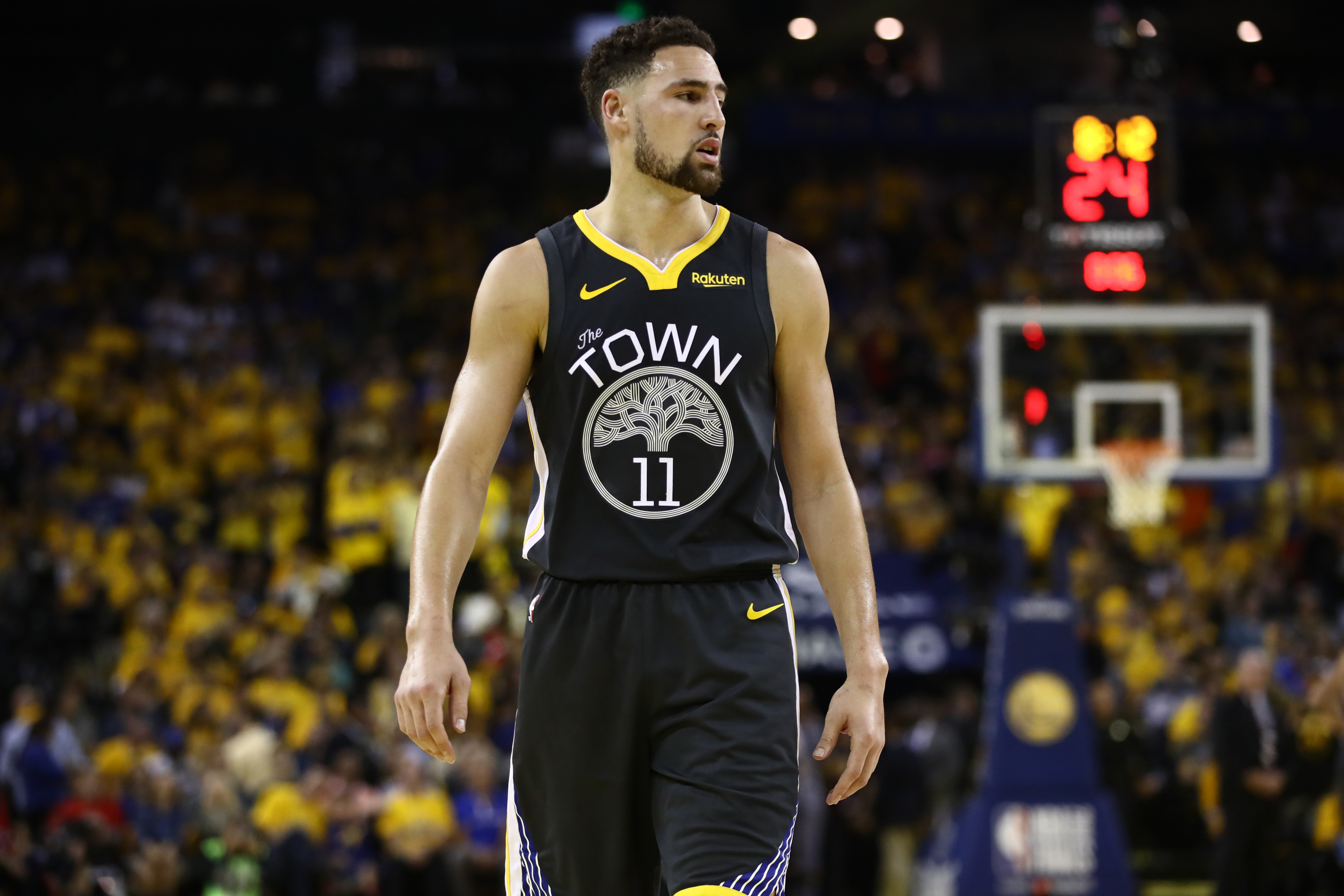 Golden State Warriors: Klay Thompson's dad gives positive injury update