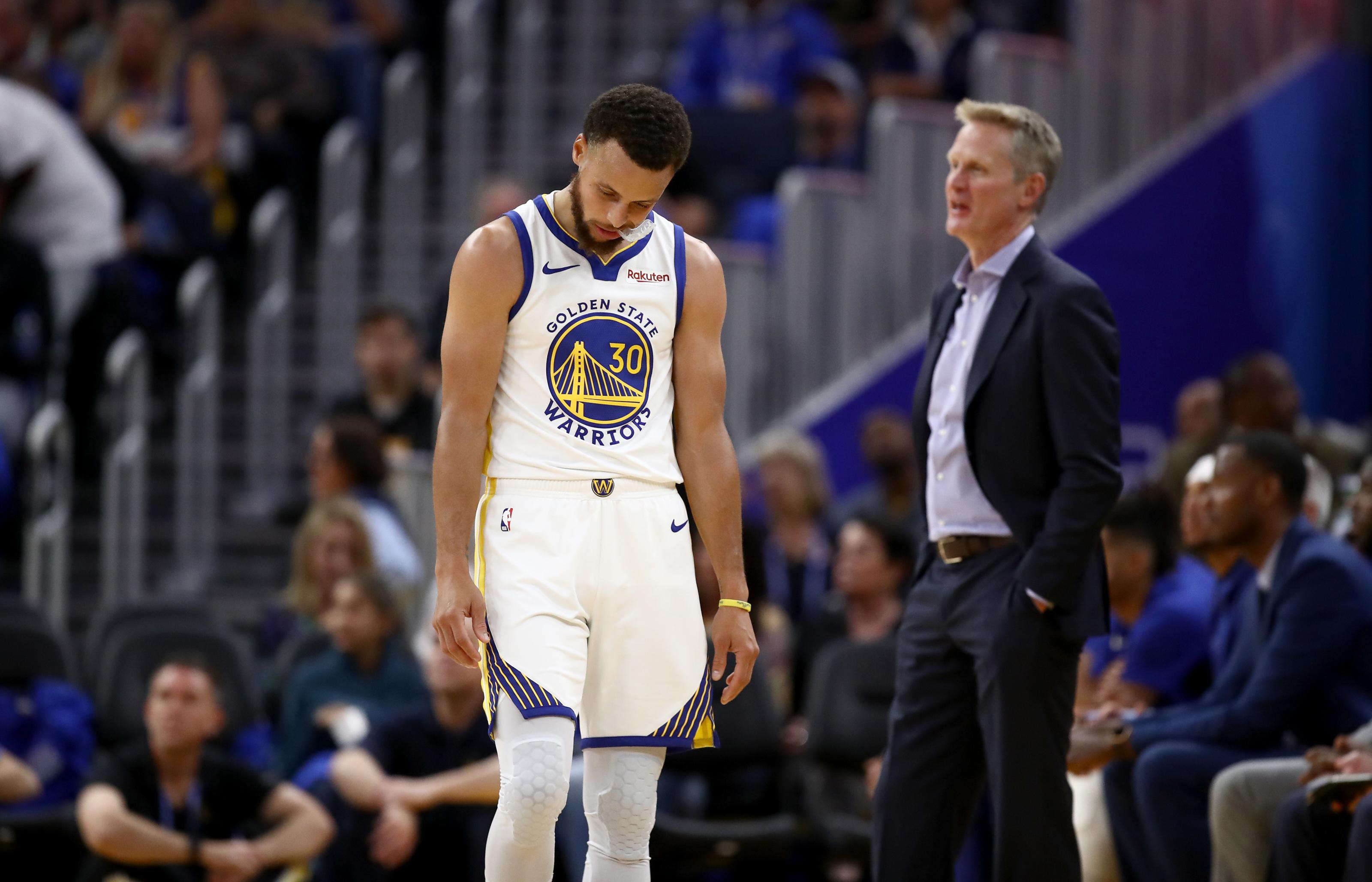 Steve Kerr thinks Golden State Warriors season is all but over