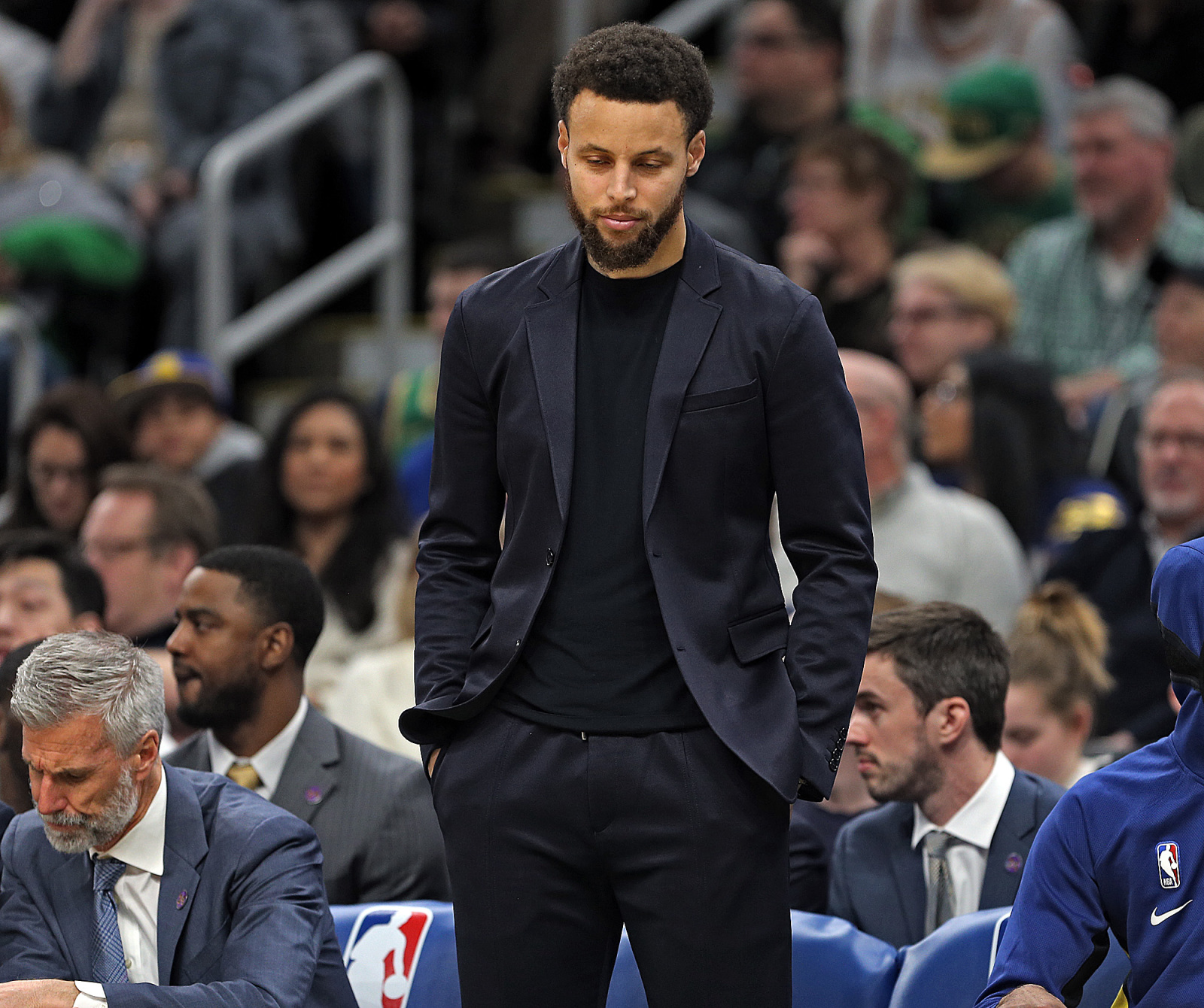 Golden State Warriors: Stephen Curry's desire to return is encouraging
