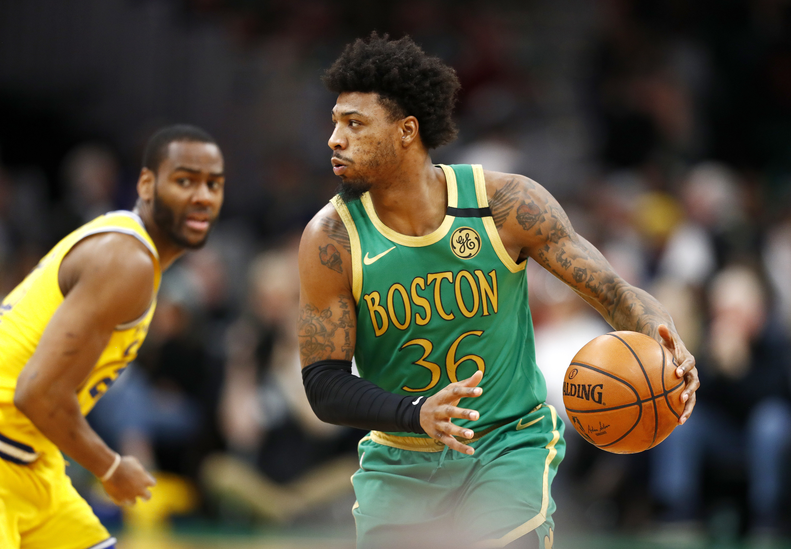 Golden State Warriors: Marcus Smart could become the new Andre Iguodala