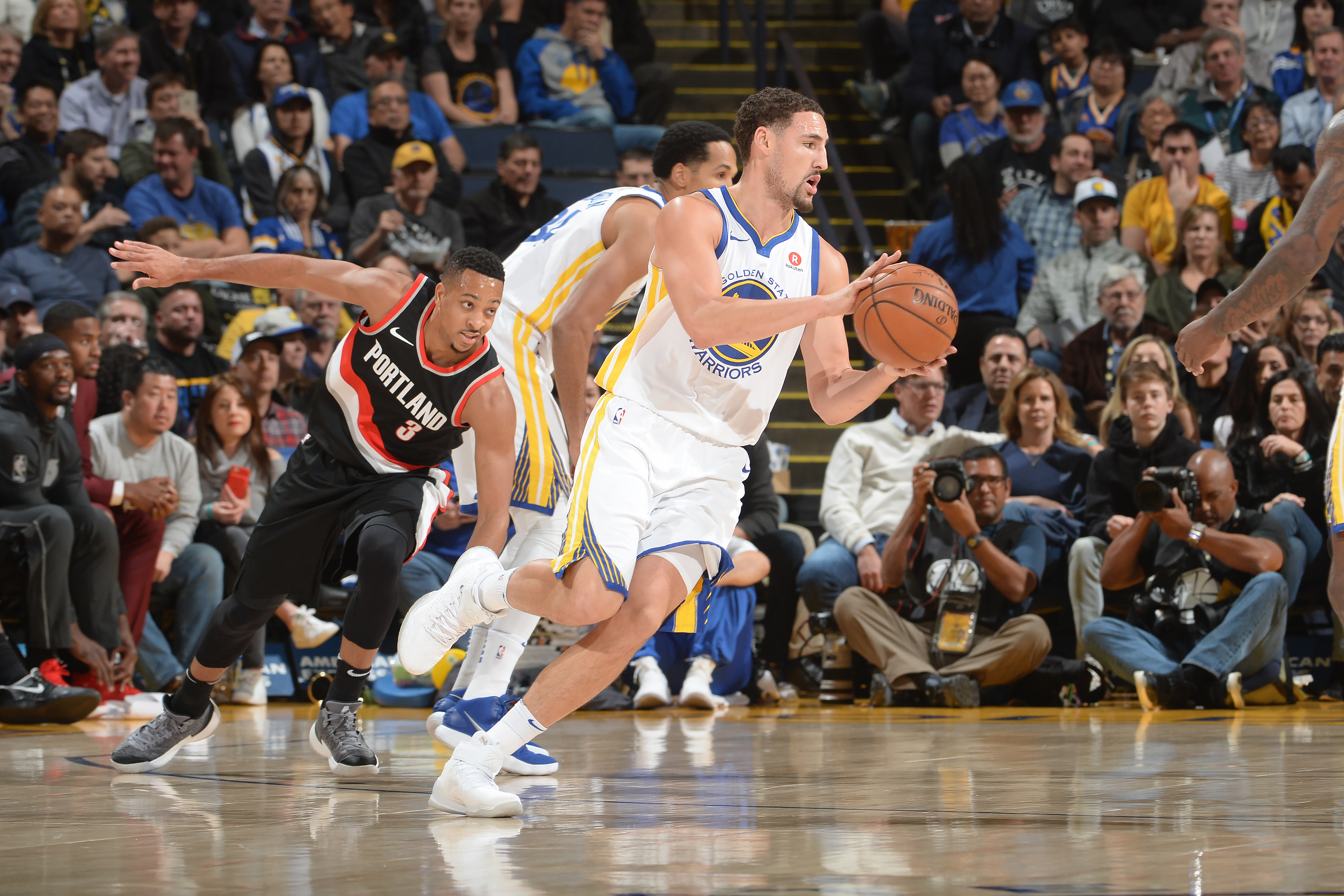 Golden State Warriors: Top 3 performers vs. Portland Trail Blazers