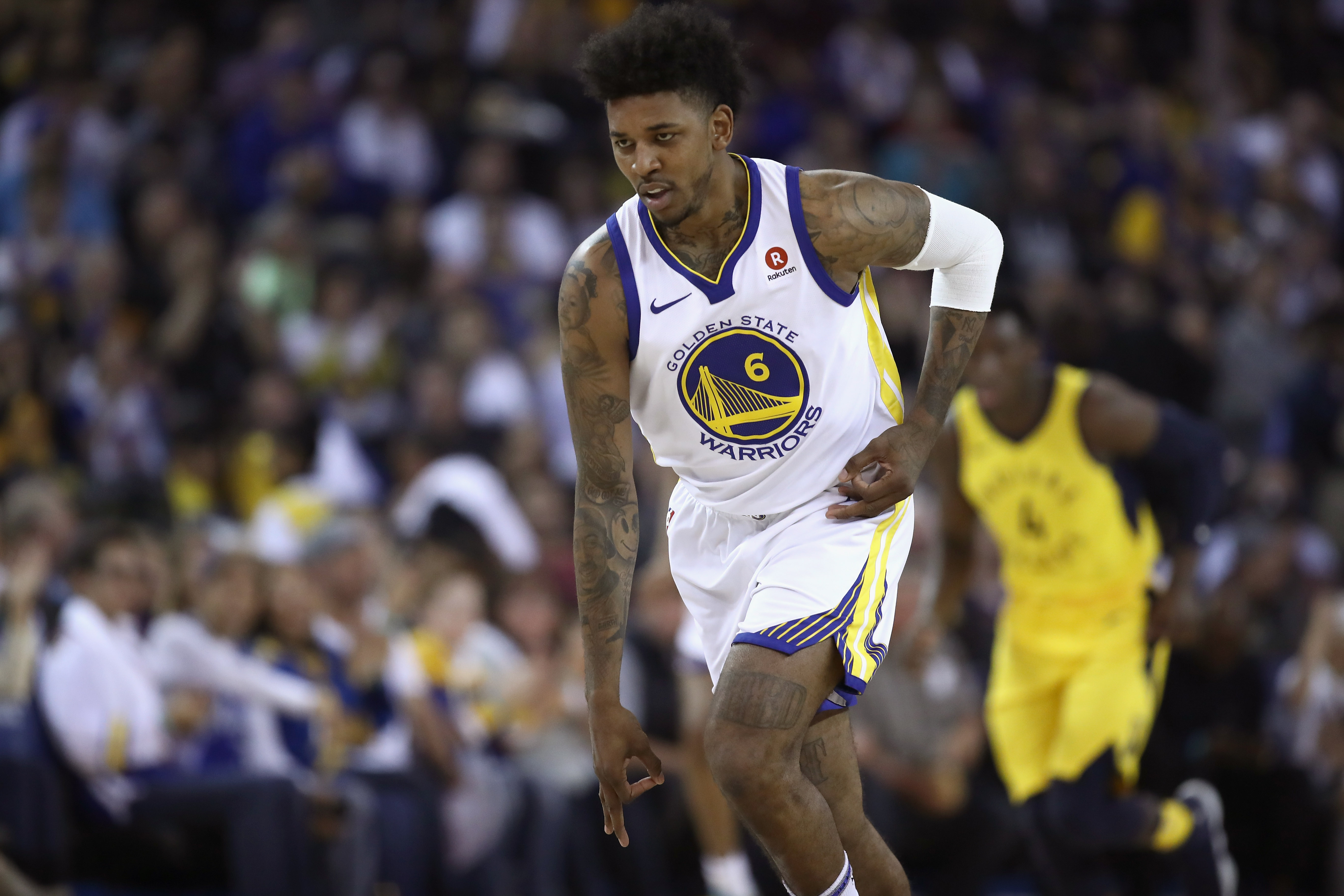 Golden State Warriors run out of gas vs. Indiana Pacers