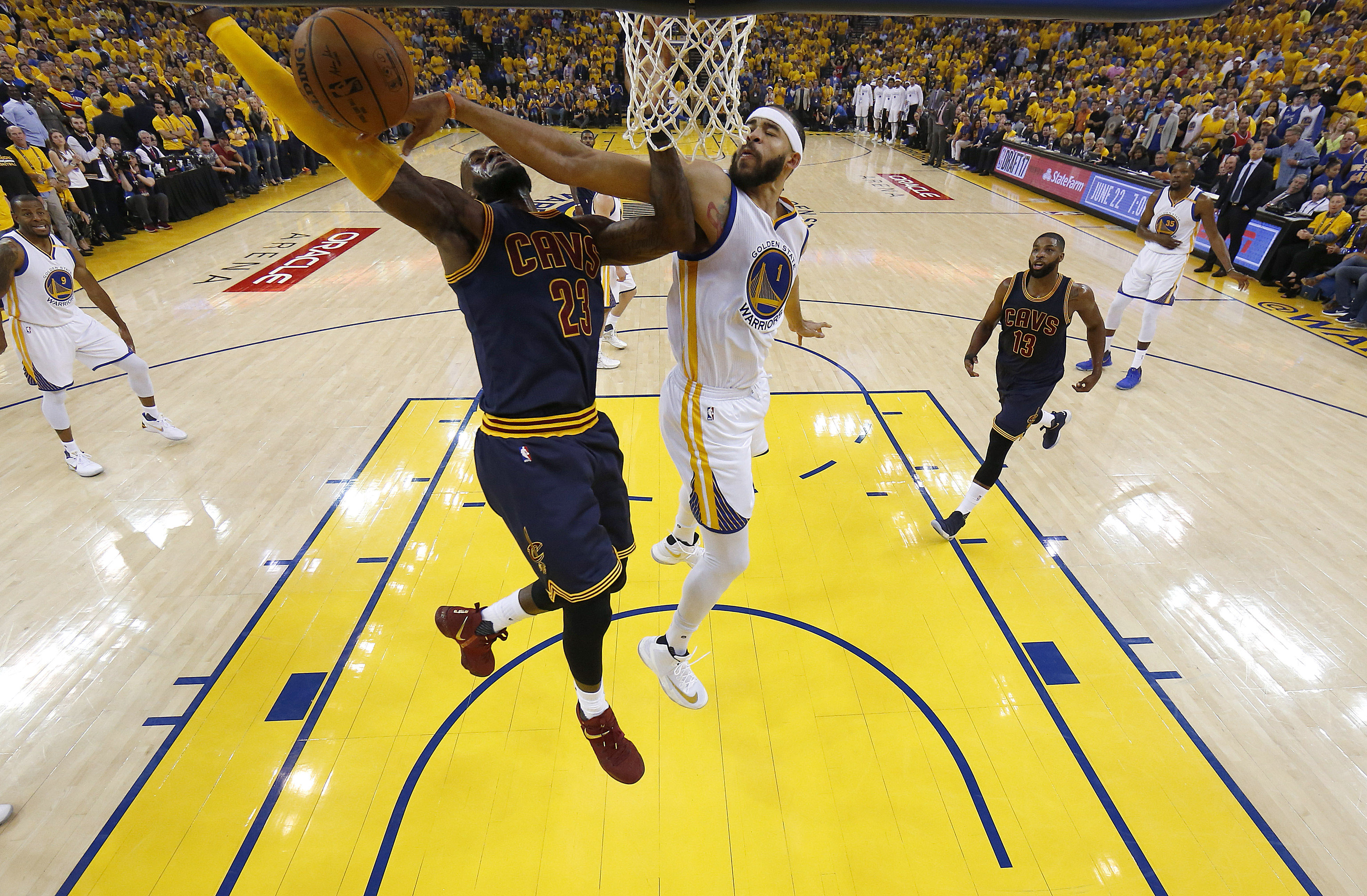 d0dd28f10 Golden State Warriors  10 best moments from Game 1 of the NBA Finals ...