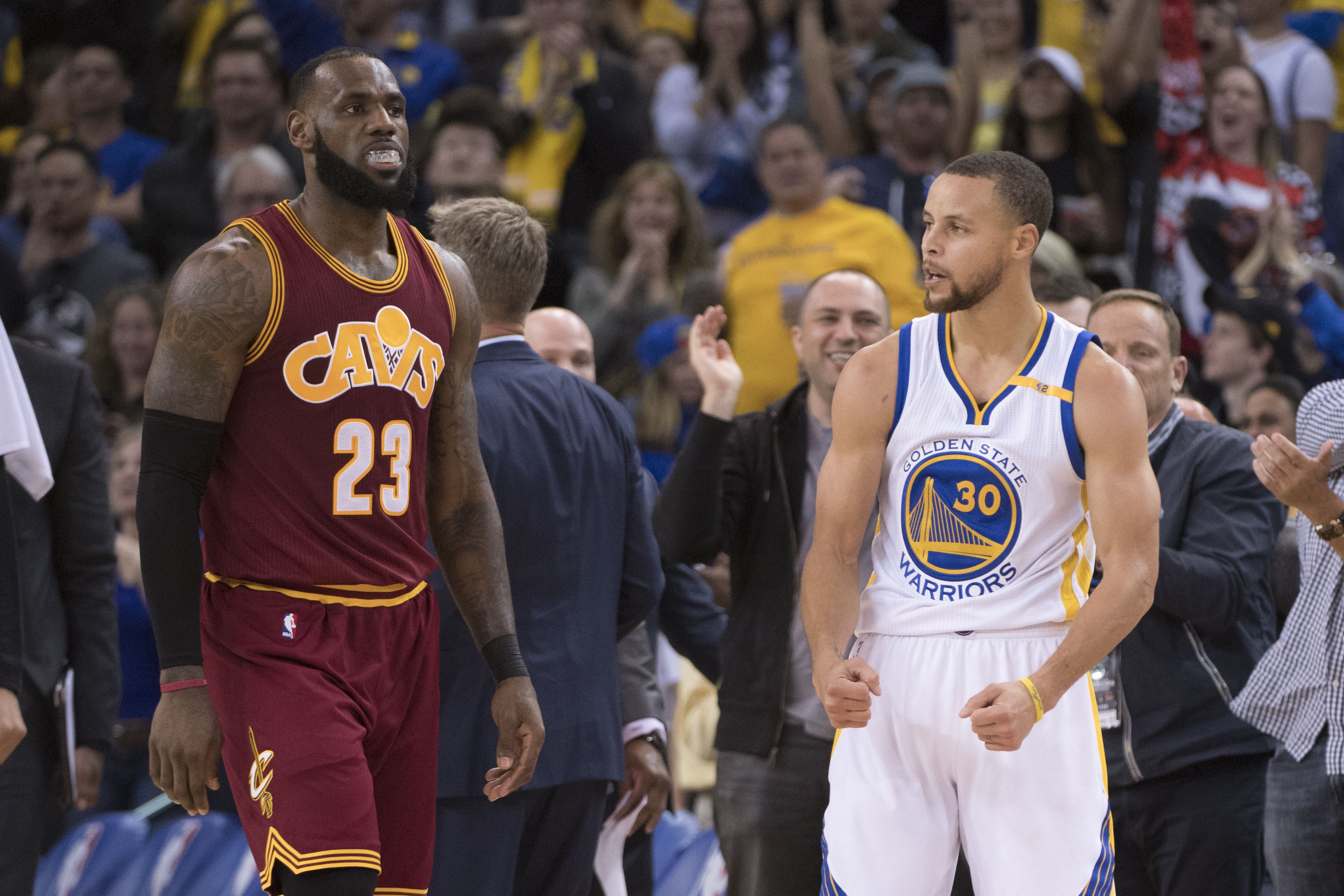 4bb9a1072 Golden State Warriors  six best moments from win over Cavaliers